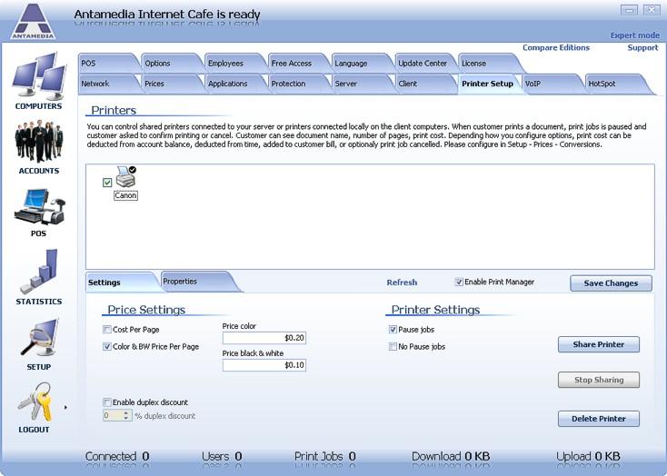 Internet Cafe Standard